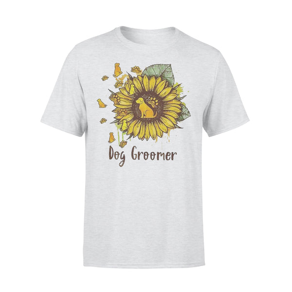 Official Sunflower Dogs Groomer Shirt XL By AllezyShirt