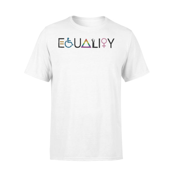 Official Equality Symbol Woman Shirt L By AllezyShirt