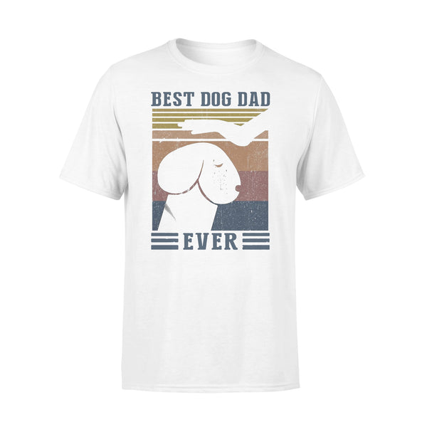 Best Dog Dad Ever Funny Meme Vintage T-shirt L By AllezyShirt
