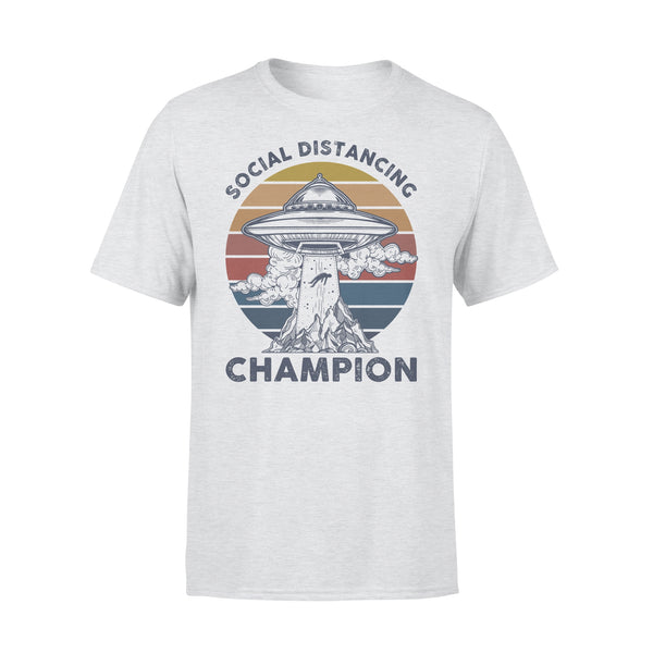 Ufos Social Distancing Champion Shirt XL By AllezyShirt