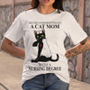 A Cat Mom With A Nursing Degree T-shirt S By AllezyShirt