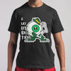 A Wee Bit Irish Today Eyes Funny Patrick's Day Shirt M By AllezyShirt