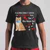 A Woman Cannot Survive On Self-Quarantine Alone She Also Needs Her Cat Heart Covid-19 T-shirt M By AllezyShirt