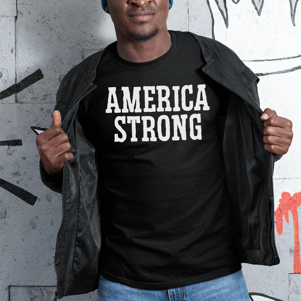 America Strong Shirt S By AllezyShirt