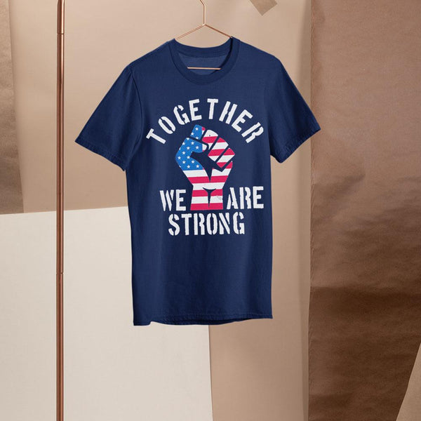 America Strong Together Usa Shirt S By AllezyShirt