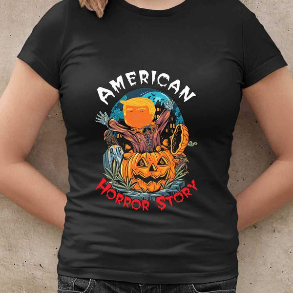 American Horror Story Donald Trump Halloween T-shirt S By AllezyShirt
