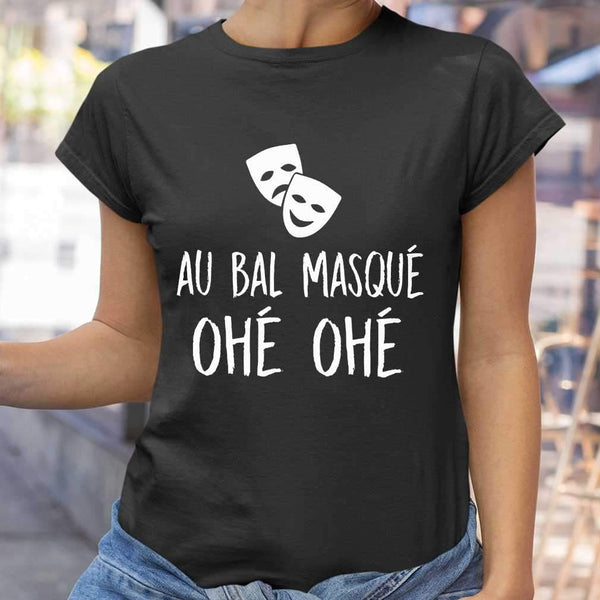 Au Bal Masque Ohe Ohe T-shirt M By AllezyShirt