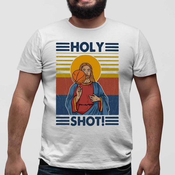 Basketball Jesus Holy Shot Vintage T-shirt M By AllezyShirt