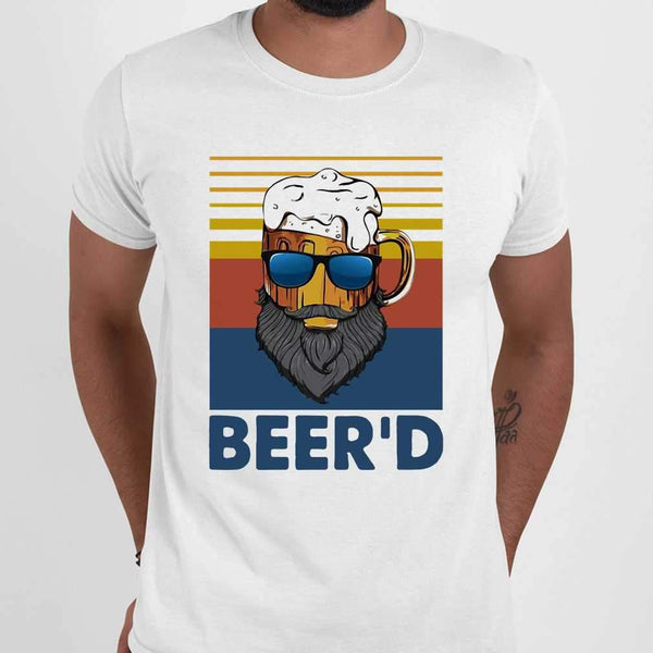 Beard Beer Beer'd Vintage T-shirt M By AllezyShirt