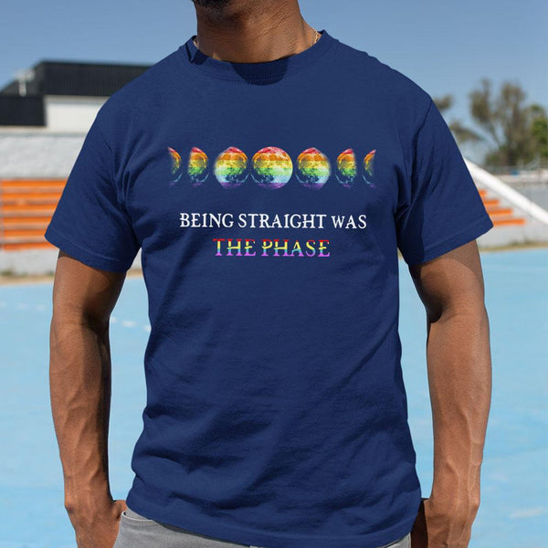 Being Straight Was The Phase Shirt M By AllezyShirt