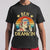 Ben Drankin Party Vintage Usa Poster T-shirt