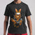 Bengal Cat Face Mask In The Pocket T-shirt