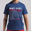 Best May Girl Facts Shirt S By AllezyShirt