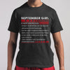 Best September Girl Facts Shirt M By AllezyShirt