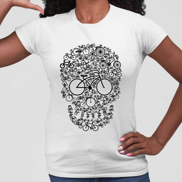 Bicycle Sugar Skull T-shirt M By AllezyShirt
