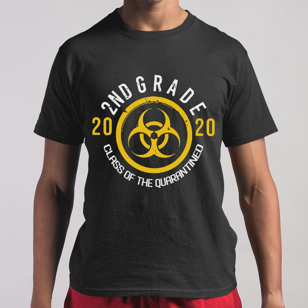 Biohazard 2Nd Grade 2020 Class Of The Quarantined T-shirt M By AllezyShirt