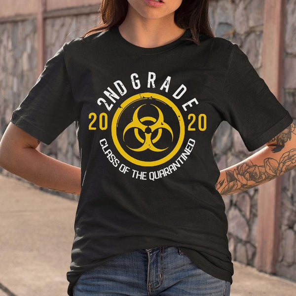 Biohazard 2Nd Grade 2020 Class Of The Quarantined T-shirt S By AllezyShirt