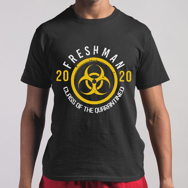 Biohazard Freshman 2020 Class Of The Quarantined T-shirt S By AllezyShirt