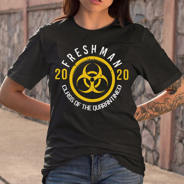 Biohazard Freshman 2020 Class Of The Quarantined T-shirt M By AllezyShirt