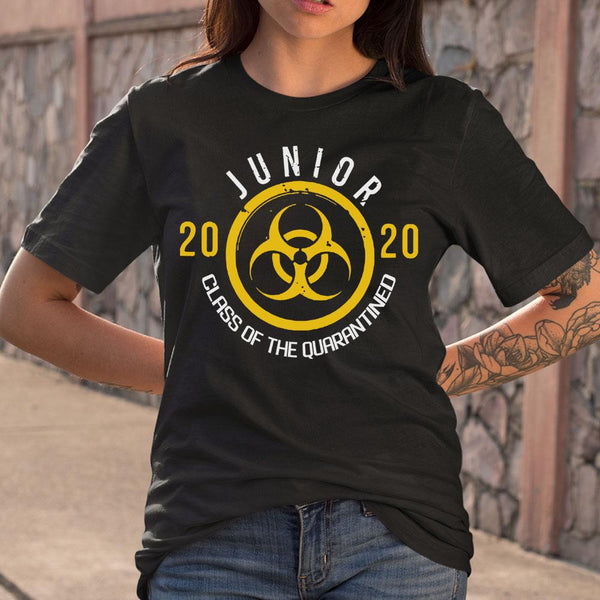 Biohazard Junior 2020 Class Of The Quarantined T-shirt S By AllezyShirt