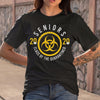 Biohazard Symbol Seniors 2020 Class Of The Quarantine T-shirt M By AllezyShirt