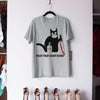 Black Cat Mask Wash Your Damn Hand Shirt M By AllezyShirt