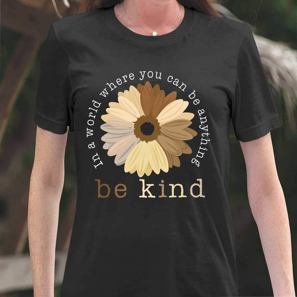 Black Pride In A World Where You Can Be Anything Be Kind T-shirt M By AllezyShirt