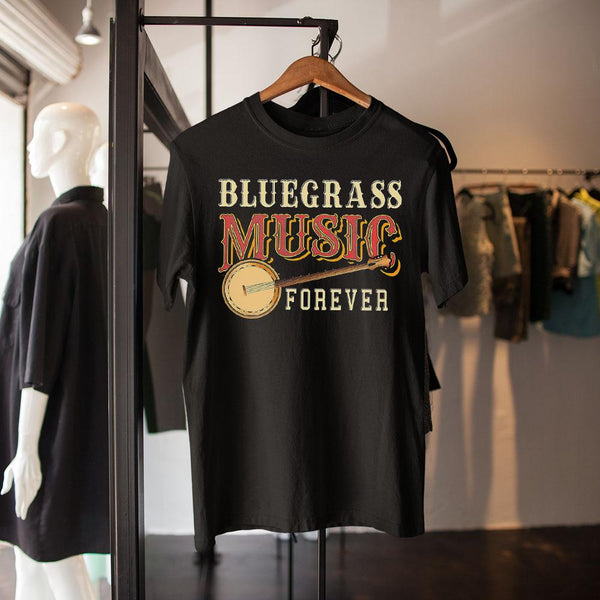 Bluegrass Music Forever Banjo Shirt M By AllezyShirt