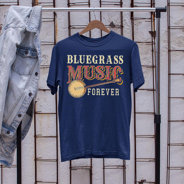 Bluegrass Music Forever Banjo Shirt S By AllezyShirt