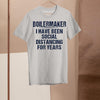 Boilermaker I Have Been Social Distancing For Years Shirt M By AllezyShirt