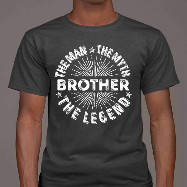 Brother The Man The Myth The Legend Star T-shirt M By AllezyShirt