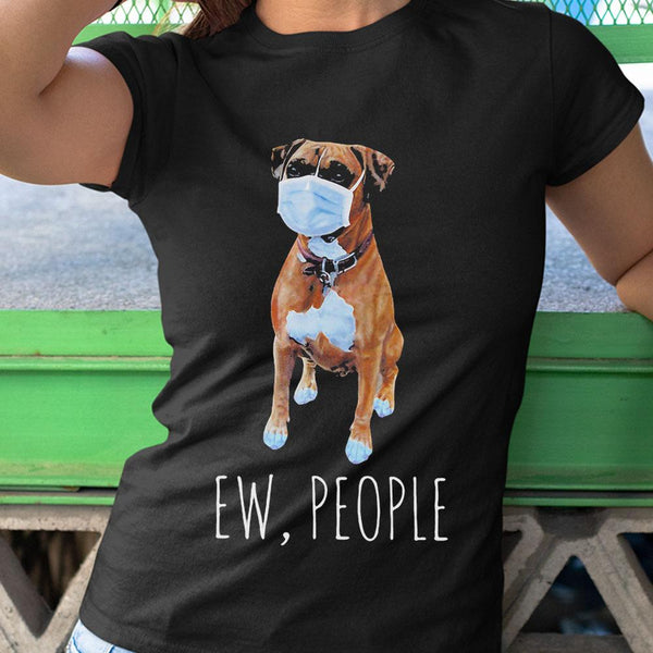 Bulldog Ew People Covid-19 2020 Shirt M By AllezyShirt