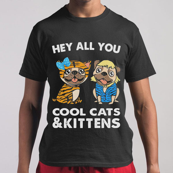 Bulldogs Hey All You Cool Cats And Kittens Shirt M By AllezyShirt