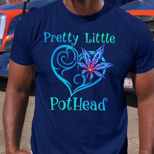 Cannabis Pretty Little Pothead Shirt M By AllezyShirt