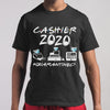Cashier 2020 Face Mask #quarantined T-shirt M By AllezyShirt