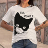 Cat Face Mask Ew People T-shirt S By AllezyShirt
