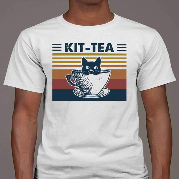Cat Kit Tea Vintage T-shirt M By AllezyShirt