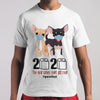 Chihuahua 2020 The Year When Shit Got Real Quarantine T-shirt M By AllezyShirt