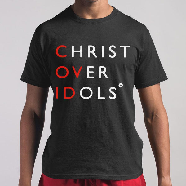 Christ Over Idols Covid-19 Shirt M By AllezyShirt