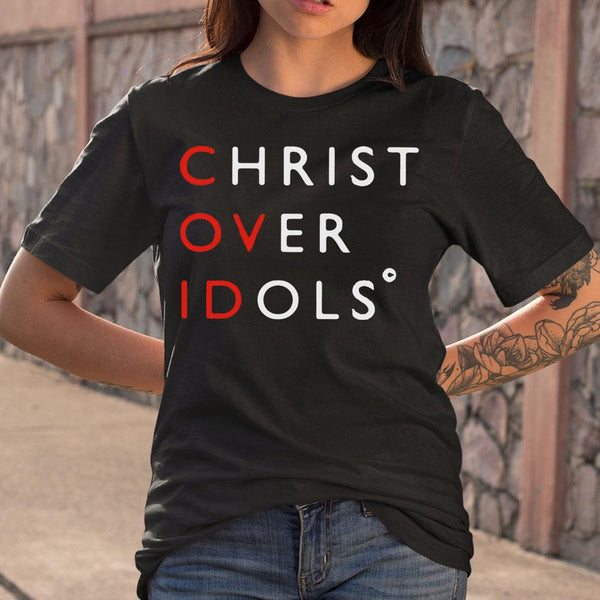 Christ Over Idols Covid-19 Shirt S By AllezyShirt