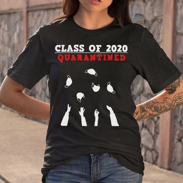 Class Of 2020 Quarantined T-shirt M By AllezyShirt