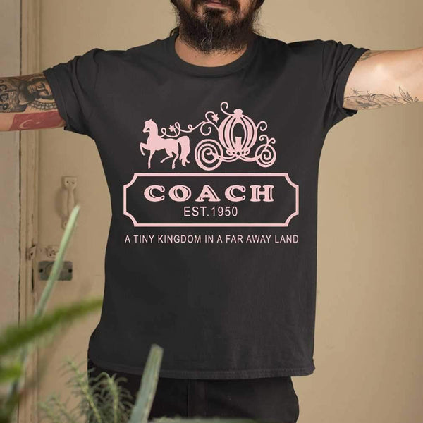 Coach Est 1950 A Tiny Kingdom In A Far Away Land T-shirt S By AllezyShirt