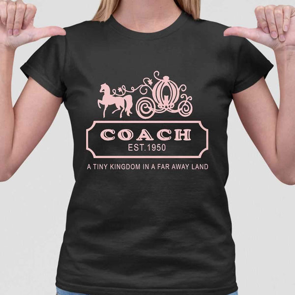 Coach Est 1950 A Tiny Kingdom In A Far Away Land T-shirt M By AllezyShirt