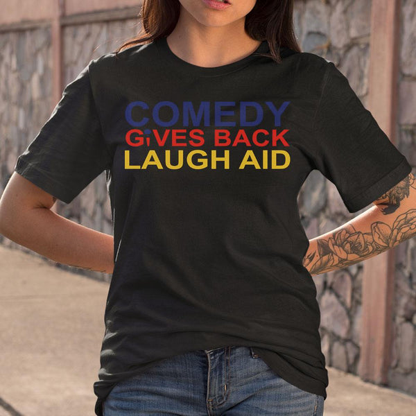 Comedy Gives Back Laugh Aid T-shirt M By AllezyShirt