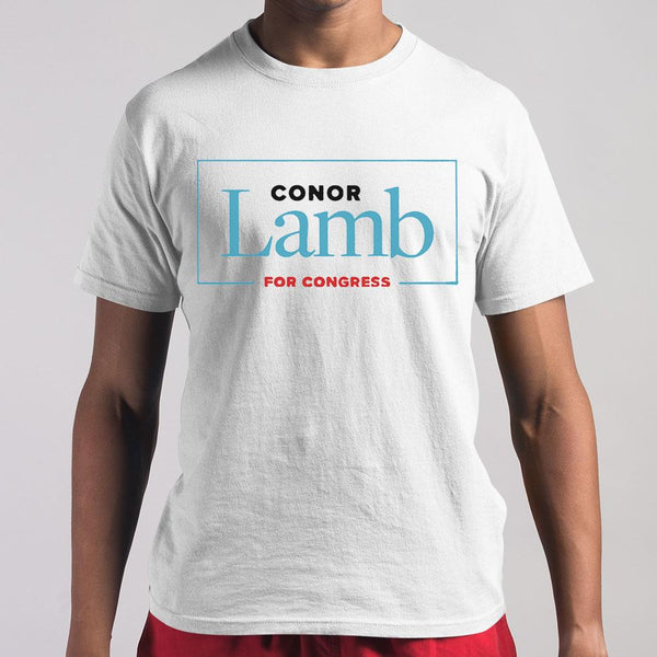 Conor Lamb For Congress T-Shirt S By AllezyShirt