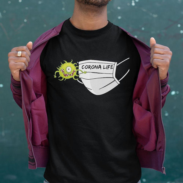 Corona Life Face Mask 2020 Shirt S By AllezyShirt