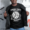 Corona Virus Ruined My Volleyball Season Shirt S By AllezyShirt