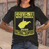 Covid-19 West Virginia National Champions 2020 T-shirt M By AllezyShirt