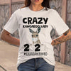 Crazy Kangaroo Lady 2020 Quarantined Toilet Paper Covid-19 T-shirt S By AllezyShirt