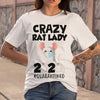 Crazy Rat Lady 2020 Isolated Toilet Paper Mask T-shirt S By AllezyShirt